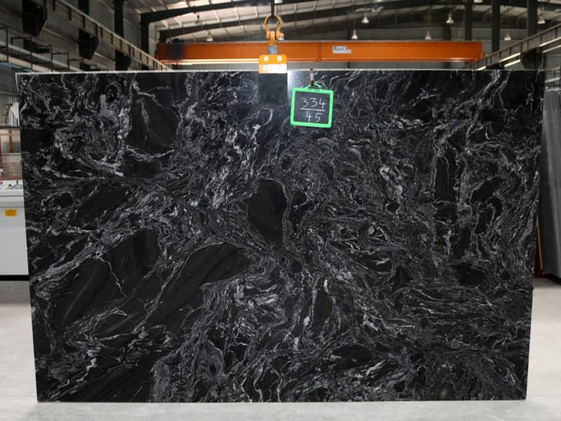 Black Forest Granite Slab Image