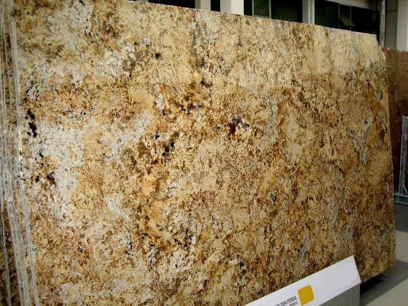 Golden Persa Granite Image