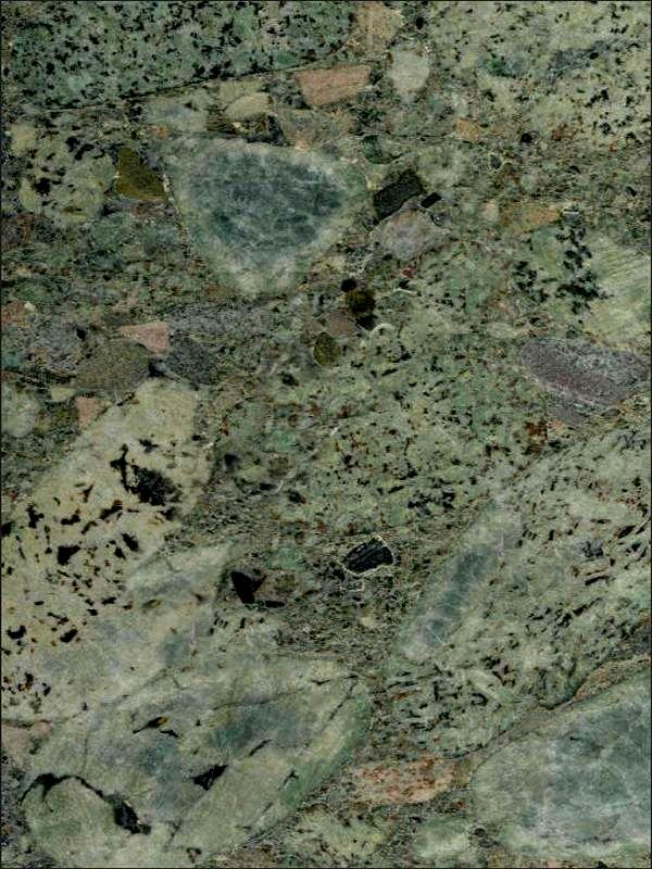 Jurassic Green Granite Image