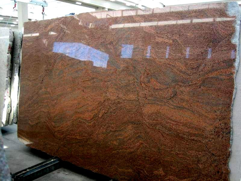 Multicolour Red Granite Polished Slab Image