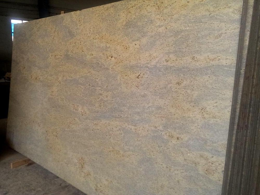 New Kashmir Gold Dark Granite Slab Image