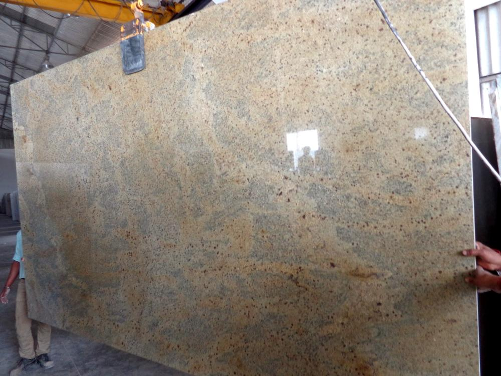 New Kashmir Gold Granite Slab Image