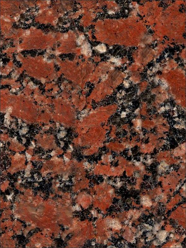 Santiago Red Granite Image